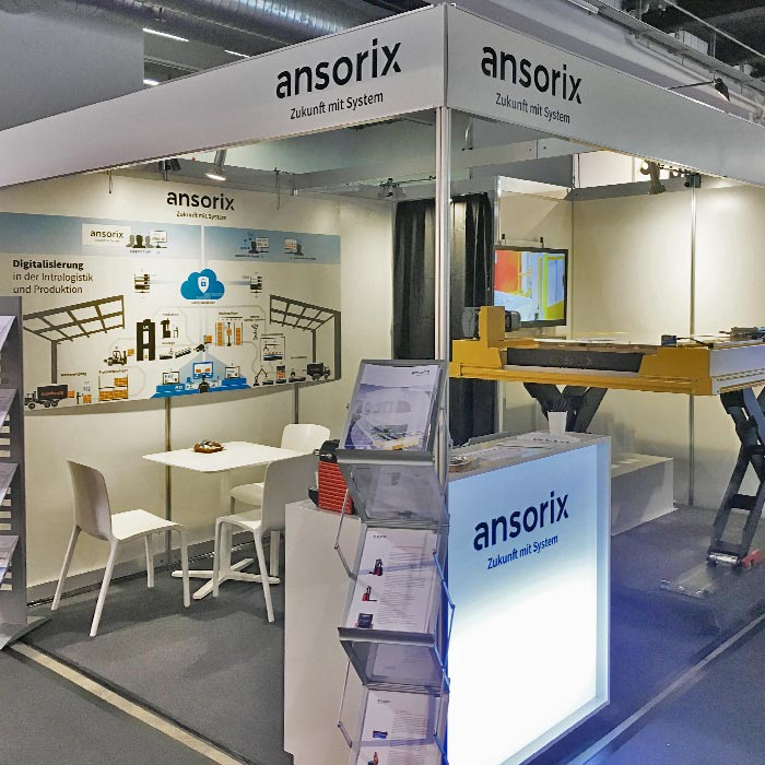 Ansorix Messestand